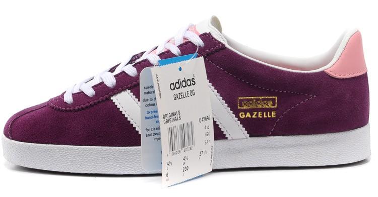 adidas gazelle femme fushia